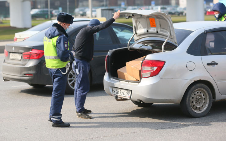 проверка багажника