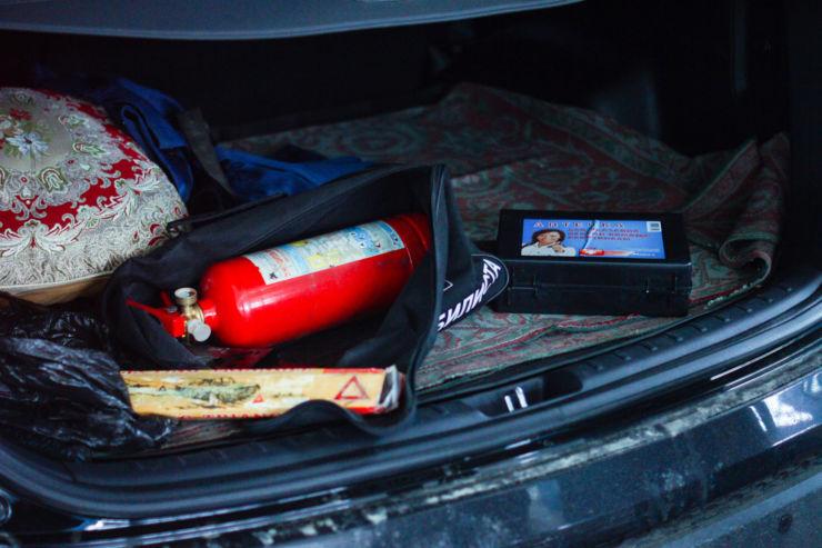 проверка багажника гибдд