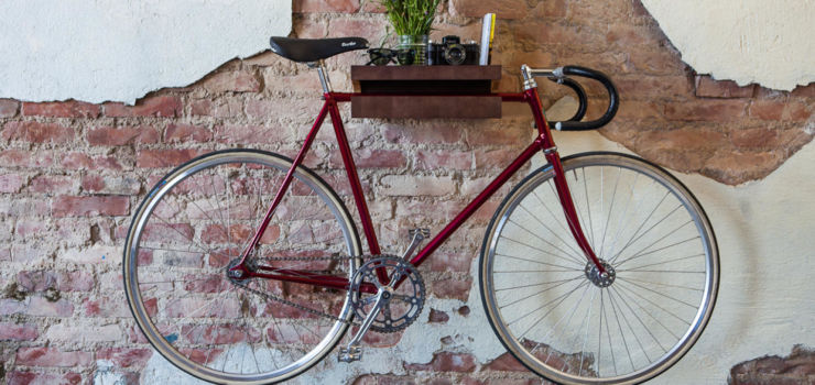 велосипед хранение