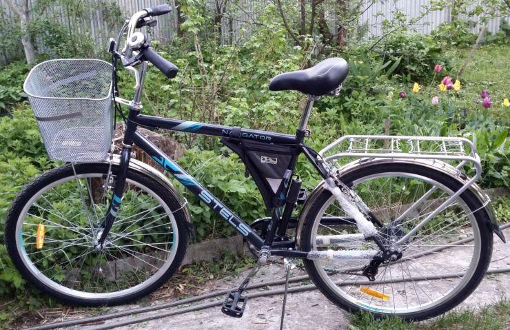 корзина велосипед