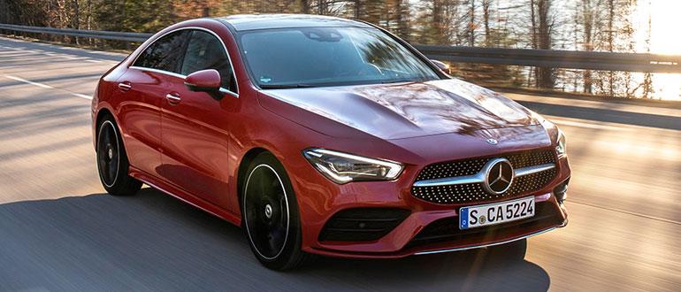 Mercedes-CLA-Купе