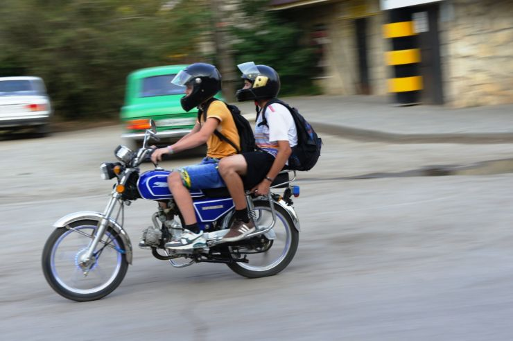 скутер или мопед