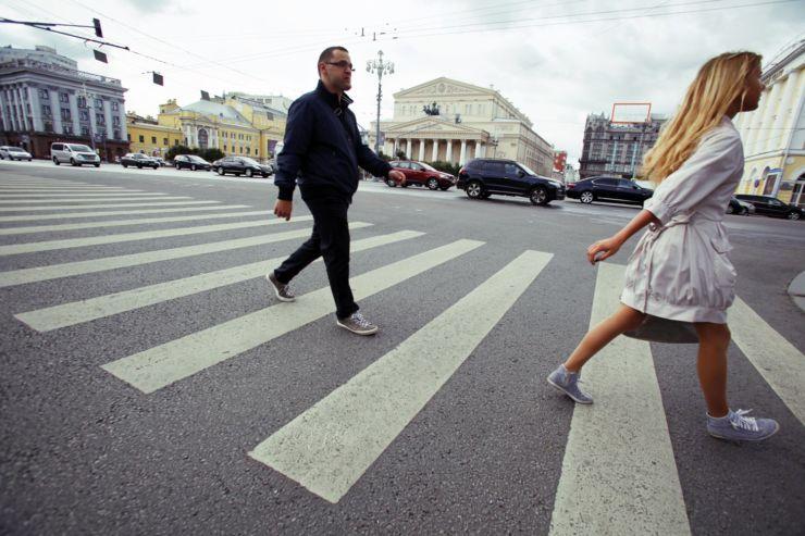 проезд пешеходов
