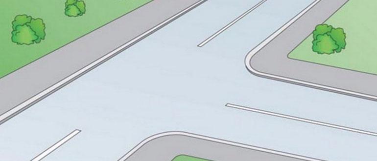 проезд-равнозначного-Т-образного-перекрестка