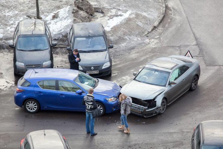 дтп выезд парковка