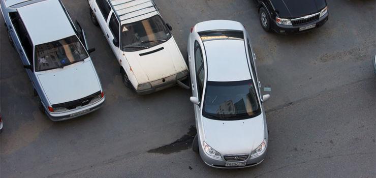 парковка выезд дтп