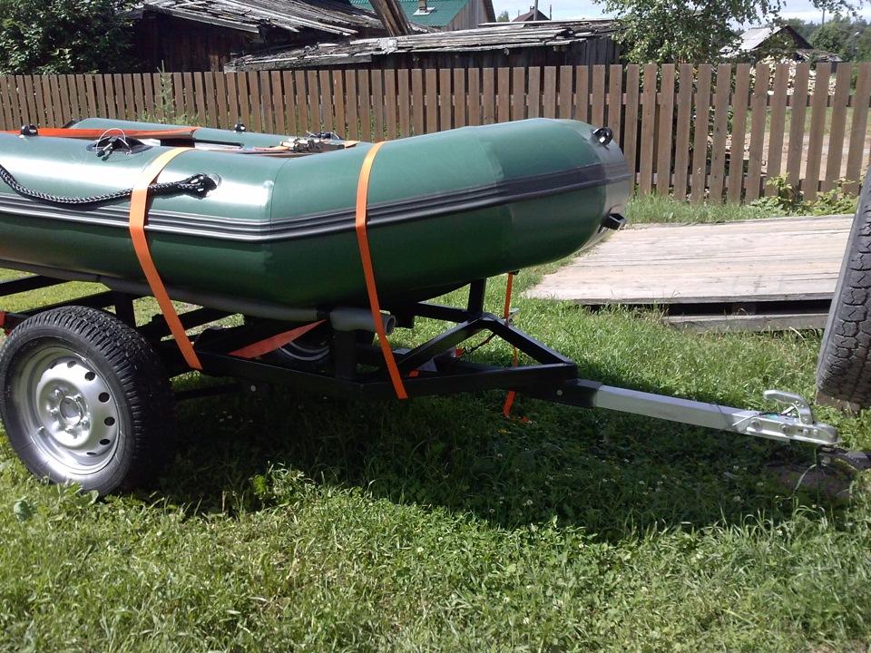 Обзор прицепов для перевозки лодок и катеров