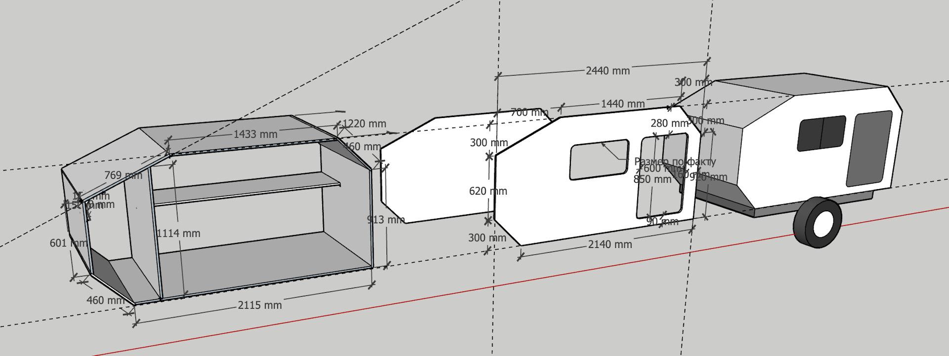 Что нужно знать о прицепах палатках на легковушку — обзор конструкции