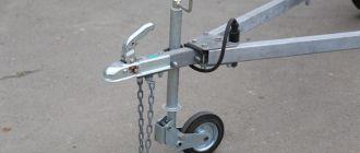 Основные сведения об опорных колесах для прицепов