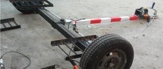 Обзор прицепов подкатов для буксировки машины